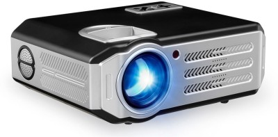 PLAY Android Projector Smart WiFi Video HDMI USB Full HD 1080P TV Home Theatre Beamer 5500 lm LED Corded Portable Projector(Black) at flipkart