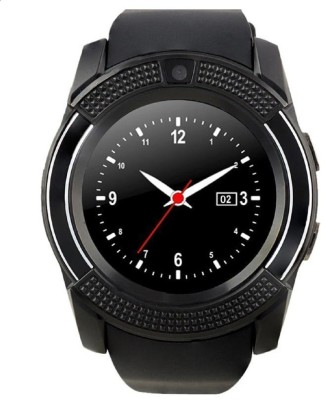 AVIKA A lovely COMBO offer for Everyone Black, White Smartwatch(Black, White Strap Free size)