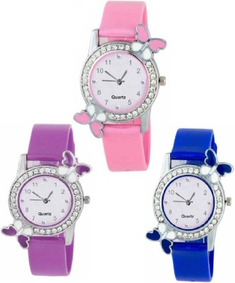 Rd ytR Butterfly New Combo Pack 3 - Stylish | Kids Watches- yt00A4_0S0 Watch  - For Women