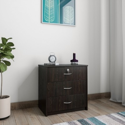 Mobel Furniture Engineered Wood Free Standing Chest of Drawers(Finish Color - Wenge)