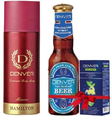 Denver HONOUR & ANTI DANDRUFF(Set of 2)