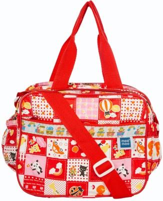 MeeMee Multifunctional Nursery Bag  Red  Nursery Bag Red MeeMee Diaper Bags