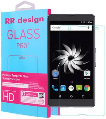 RR Design Tempered Glass Guard for Micromax Bharat 5 PLUS(Pack of 1)