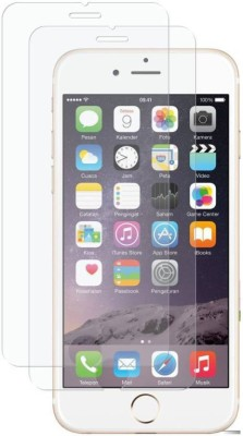 Indicraft Tempered Glass Guard for Apple iPhone 6(Pack of 2)