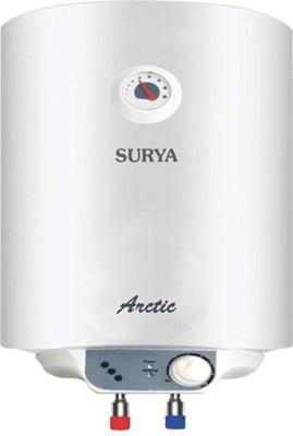 SURYA 10 L Storage Water Geyser (Arctic 2018, White)