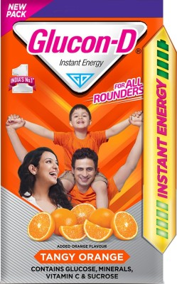 Glucon-D Instant Energy Drink(450 g, Tangy Orange Flavored)