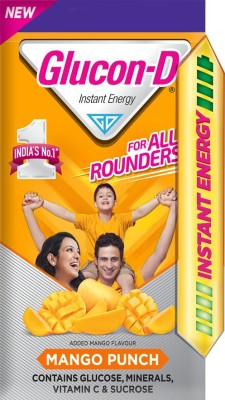 Glucon-D Energy Drink  (450 g, Mango Punch Flavored)