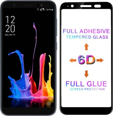 Micvir Edge To Edge Tempered Glass for Asus Zenfone Lite L1(Pack of 1)