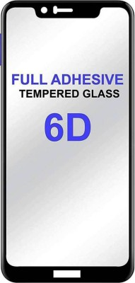 9H Edge To Edge Tempered Glass for Asus Zenfone Max Pro M1 (6D Full Glue Tempered Glass)(9H Tempered Glass)(Pack of 1)