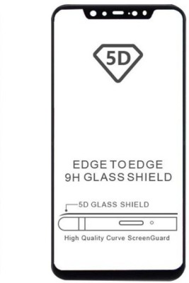 Express Buy Edge To Edge Tempered Glass for Nokia X6/ Nokia 6.1 Plus  ( Tempered glass)(Full Glue)(Pack of 1)