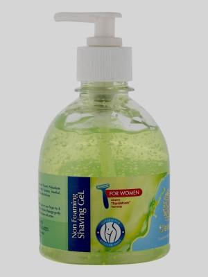 clearcut Women Non-foaming Shaving Gel Clear Aloe vera gel Cool type(250 ml)