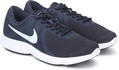 Nike REVOLUTION 4 Running Shoes For Men(Grey) 1