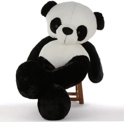 AVS 5 Feet Stuffed Spongy Hugable Cute Panda Teddy Bear   152 cm Black AVS Soft Toys