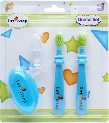 1st Step DENTAL SET Ultra Soft Toothbrush(Pack of 3)
