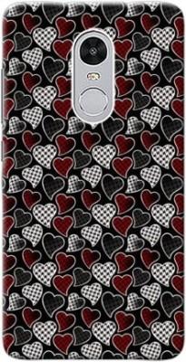 Mahadi Back Cover for Mi Redmi Note 4 Multicolor