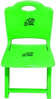 Samaaya Metal Chair(Finish Color - Orange)