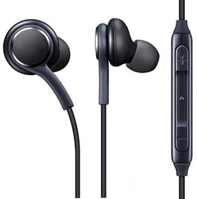 Grostar Super Sound Compatible For Sam-sang AKG Earphone/Stereo Headset Wired Headset(Black, Wired in the ear)
