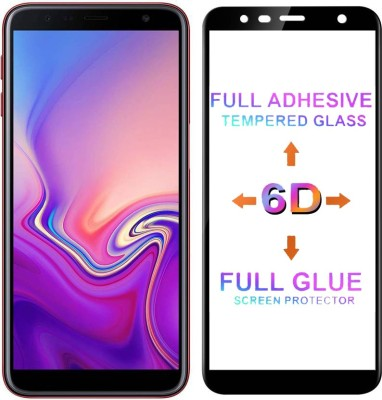Micvir Edge To Edge Tempered Glass for Samsung Galaxy J6 Plus(Pack of 1)