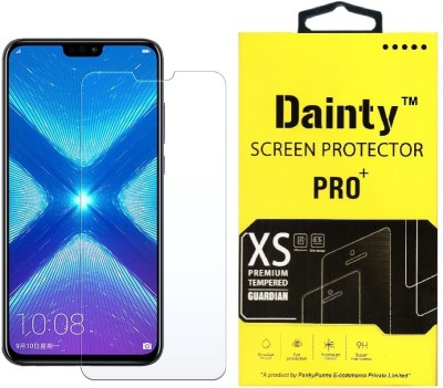 Dainty Tempered Glass Guard for Honor 8X(Pack of 1)