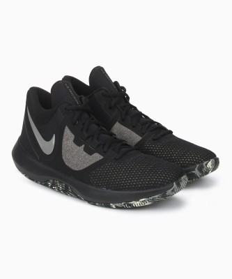 Nike AIR PRECISION II Basketball Shoes For Men(Black)