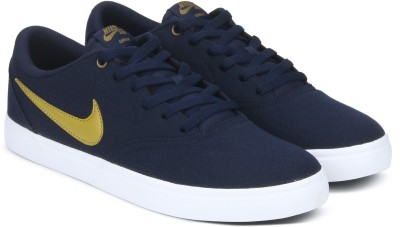 Nike SB CHECK SOLAR CNVS Sneakers For Men(Blue) 1