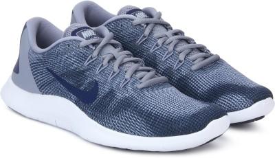 Nike FLEX 2018 RN Running Shoes For Men(Grey) 1