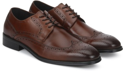 Kenneth Cole Derby For Men(Brown) at flipkart