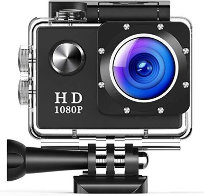 Biratty 1080P ACTION CAMERA FULL HD CAMERA 1080P Sports and Action Camera(Black 12 MP)
