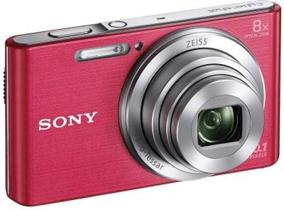Sony W830 W Advanced Point & Shoot Camera(Pink)