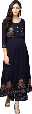 Ishin Women's Kurta and Palazzo Set