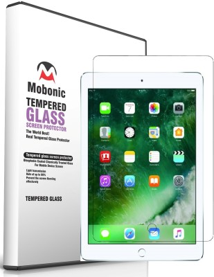 Mobonic Tempered Glass Guard for Apple iPad 6(Pack of 1)