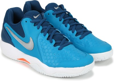 Nike AIR ZOOM RESISTANCE Tennis Shoes For Men(Blue) 1
