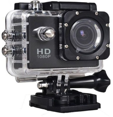 CALLIE 12MP 1080P Sports Hel Sports and Action Camera(Black 16 MP) 1