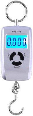 shop93 store 10g-45Kg Silver colour Plastic and Stainless Steel Digital Hanging Kitchen Weighing Scale(Silver)