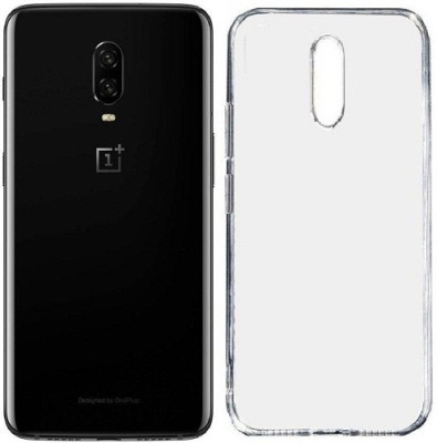 7Rocks Back Cover for One Plus 6T Transparent, Shock Proof