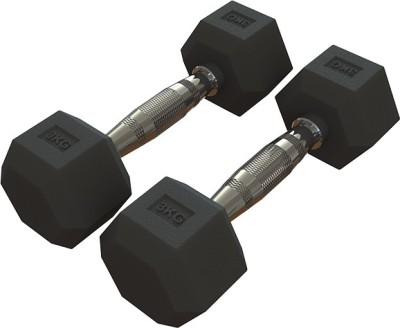 Pioneer Hex ( 3 kg pair ) Fixed Weight Dumbbell(3 kg)