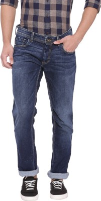 Basics Slim Men Blue Jeans
