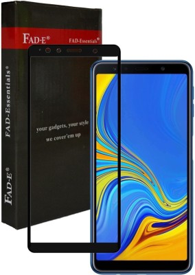 FAD-E Edge To Edge Tempered Glass for Samsung Galaxy A7 2018 Edition(Pack of 1)