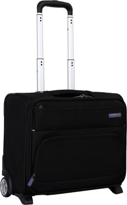 American Tourister Wilber Overnighter Expandable Cabin Luggage   18 inch
