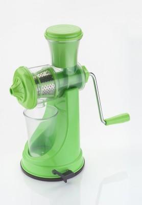 Active Fruit & Veg Plastic, Stainless Steel Hand Juicer(Green Pack of 1) at flipkart
