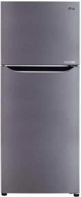 LG 260 L Frost Free Double Door 2 Star  2020  Refrigerator Shiny Steel, GL C292SPZY LG Refrigerators