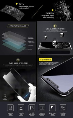 SAVD Tempered Glass Guard for Anti Glare Scratch Resistant Nokia XL Dual SIM 2.5D Curve Screen Protector Buy 1 Get 1 Free Tempered Glass | Screen Guard Screen Protector Buy 1 Get 1(Pack of 1)