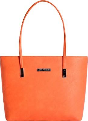 Lino Perros Women Orange Hand-held Bag at flipkart