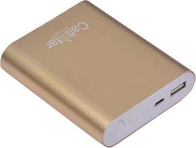 CallStar 10400 mAh Power Bank (CSMPB-10, Metal )(Gold, Lithium-ion) at flipkart