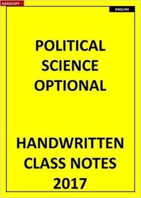 Vajiram Shubra Ranjan IAS Political Science Optional Class Notes(7 Booklets Photocopy)(Paperback, SUBHRA RANJAN)
