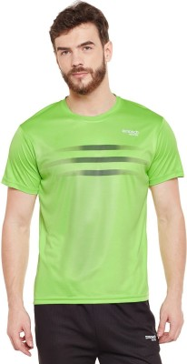 Masch Sports Printed Men Round Neck Light Green T-Shirt at flipkart