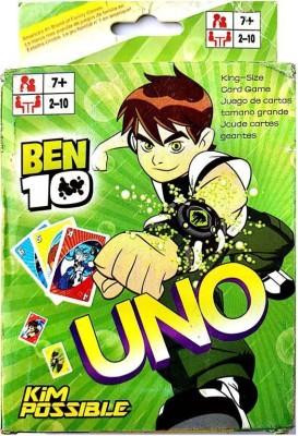 Ben 10 UNO CARD(Green)