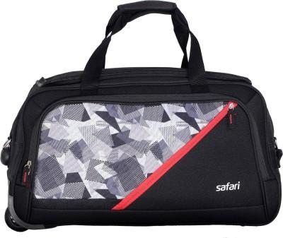 Safari FANATIC 65 Duffel Strolley Bag(Black)