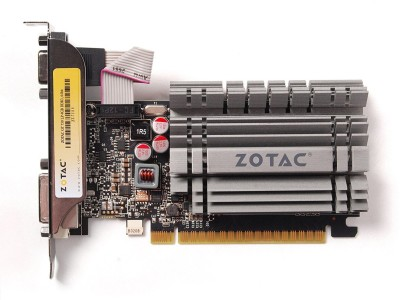 ZOTAC NVIDIA GEFORCE GT 730 4GB DDR3 4 GB DDR3 Graphics Card