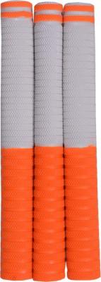 Pioneer C.bat Grip White Dry Feel(White, Orange, Pack of 3)